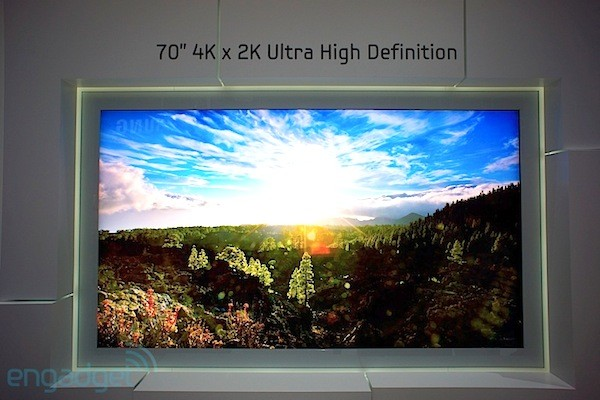 La definicin del futuro?: Televisores 4K en la IFA 2012