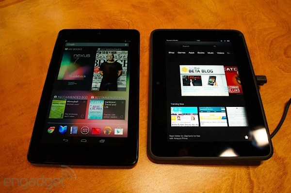 Los nuevos Kindle Fire HD y Kindle Paperwhite se encaran con sus rivales