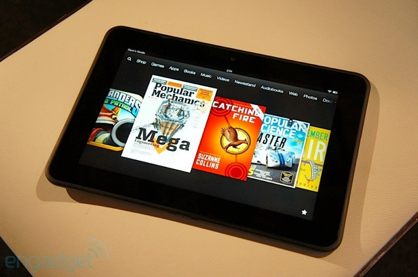 Amazon confirma que el Kindle Fire HD corren Android 4.0