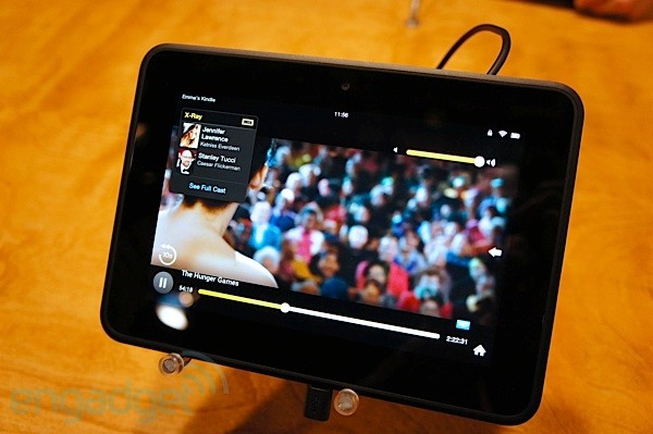 Kindle Fire HD 7, en vivo