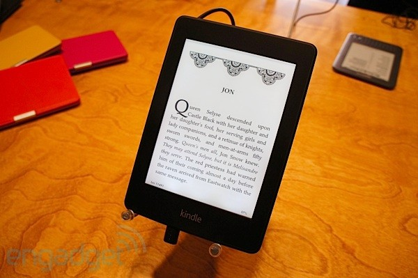 Amazon Kindle Paperwhite visto de cerca