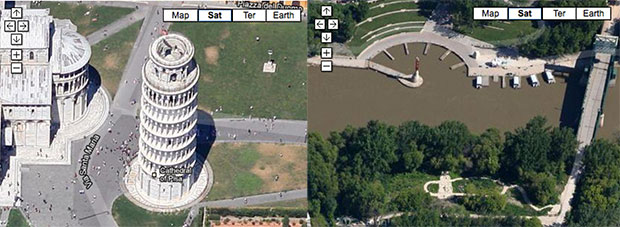 Google actualiza sus mapas con nuevas imgenes a gran resolucin y capturas a 45