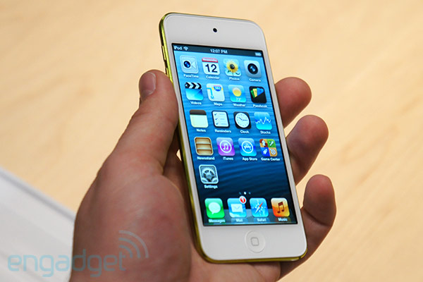 El iPod touch de 5 generacin, en vivo