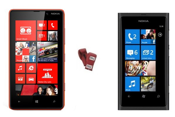 Nokia Lumia 820 vs. Lumia 800, qu ha cambiado?