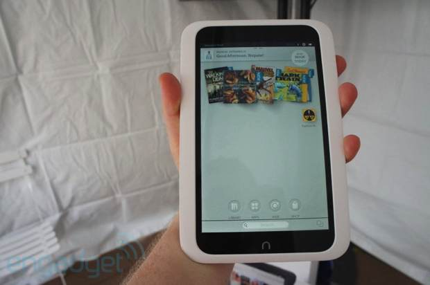 Nook HD, el tablet de 7 pulgadas de Barnes and Noble