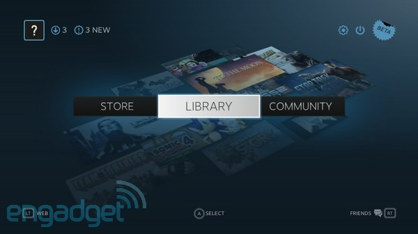 Steam Big Picture: un vistazo más de cerca a su beta