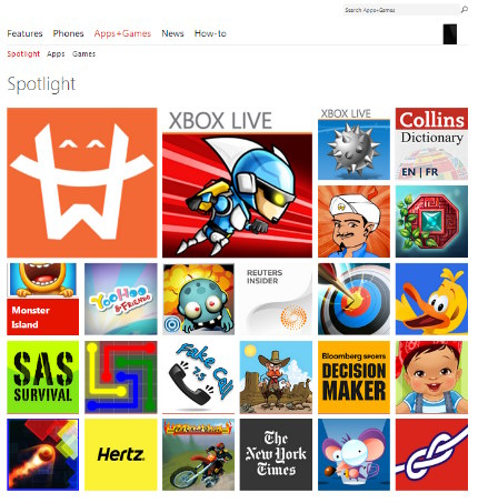 Microsoft cambia el Marketplace por la Windows Phone Store y anuncia la versin preview del SDK de WinPho8