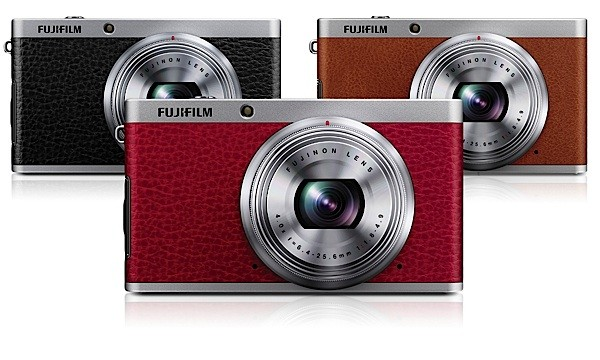 Fujifilm XF1 una compacta con controles manuales y falso acabado en cuero