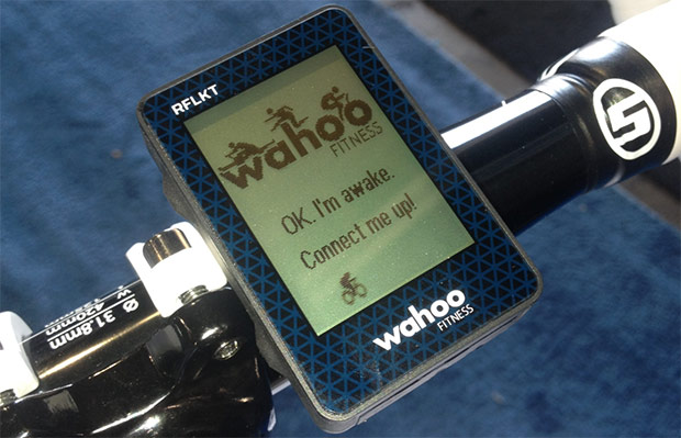 Wahoo Fitness nos muestra RFLKT, un ordenador para bicis que se conecta al iPhone