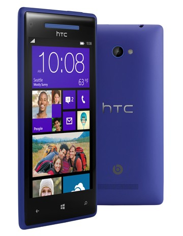 Windows Phone 8X by HTC: Pantalla 720p de 4,3 pulgadas y S4 dual core para un mvil que pone el SO por delante