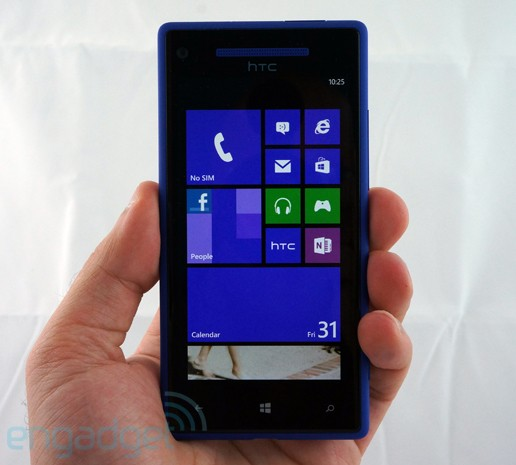 Windows Phone 8X by HTC, un vistazo más de cerca