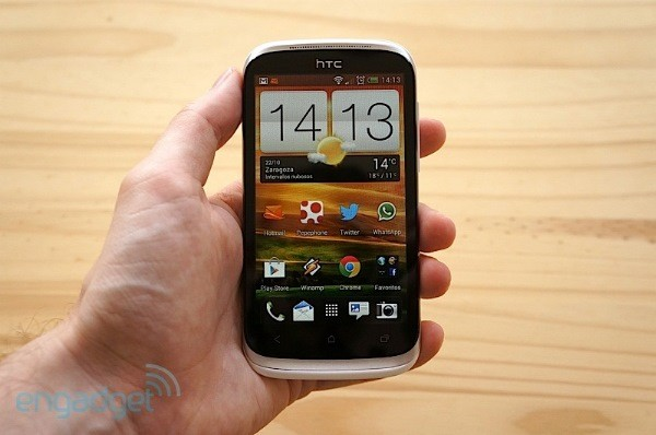 HTC Desire X, anlisis video