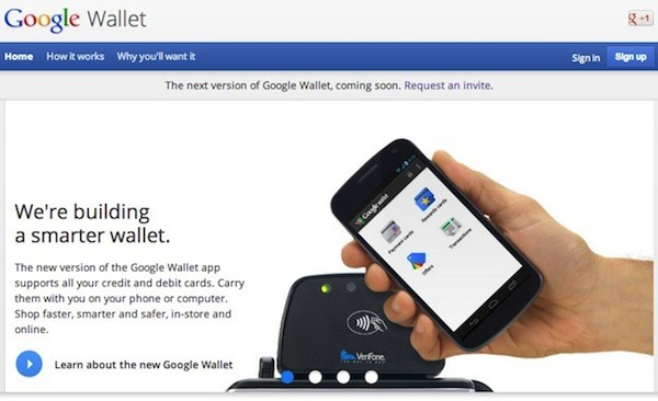 Google Wallet se actualizar 'muy pronto'