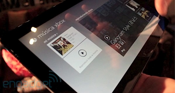Xbox Music para tablets Windows 8 y Xbox 360 bajo el objetivo - ¡con vídeo!