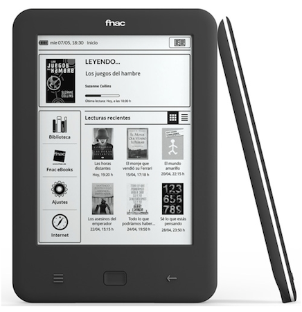 fnac touch ebook