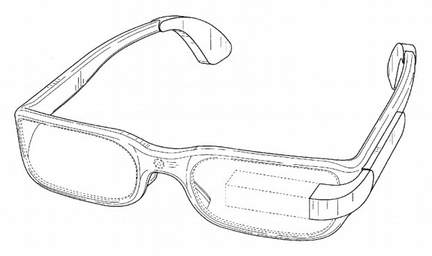 Google patenta un diseo para zurdos de sus Google Glass