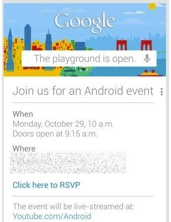 Google cancela su evento del lunes por culpa del huracn Sandy