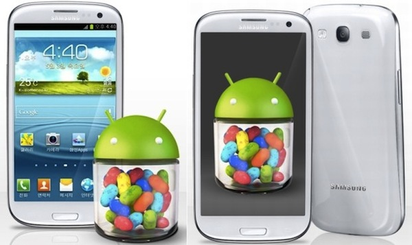 Jelly Bean ya campa a sus anchas por los Galaxy S III de Espaa y Reino Unido