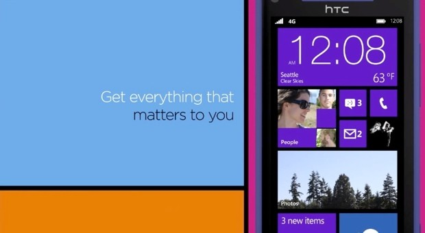 HTC pasea su Windows Phone 8X en un nuevo vídeo promocional