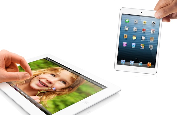 ipad mini ipad 4G comparativa