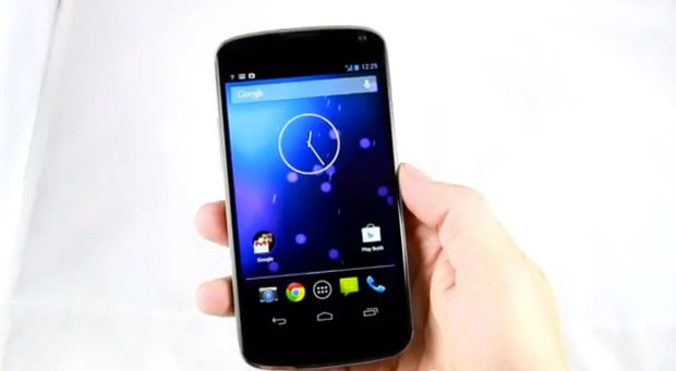 Nexus 4 muestra su dominio sobre Android 4.2 en un vdeo filtrado