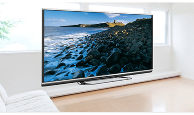 AQUOS Quattron 3D XL TV