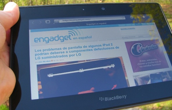 Actualizacin BlackBerry PlayBook 2.1 ya disponible