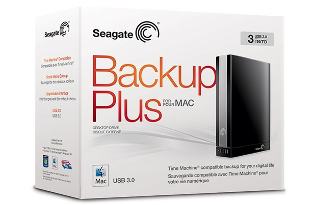 Seagate Backup Plus para Mac se actualiza con USB 3.0