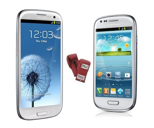 Galaxy S III y Galaxy S III mini: Diferencias y similitudes en una tabla comparativa