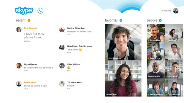 skype para windows 8