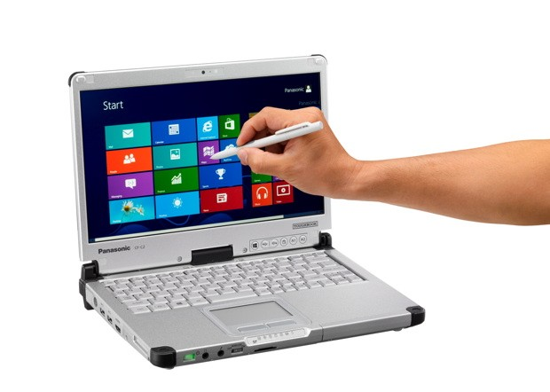 Panasonic ToughBook CF-C2: Un convertible con Windows 8 y grandes aptitudes
