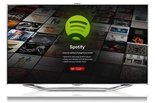Samsung guia un ojo a Spotify para introducir msica online en sus Smart TV europeas