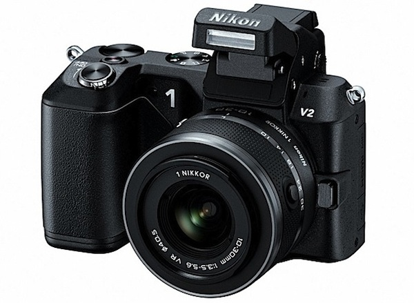 Nikon 1 V2 presentada con nuevo sensor de 14 MP y mejor ergonoma