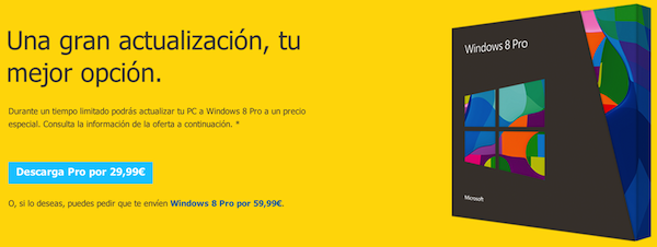 Windows 8 a la venta desde hoy noche