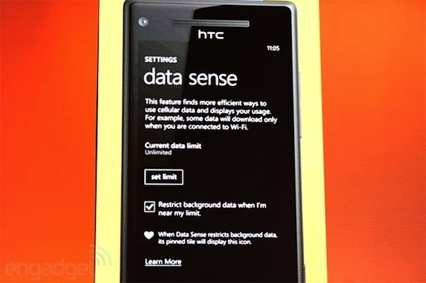 Data Sense permitirá administrar tus conexiones de datos en Windows Phone 8