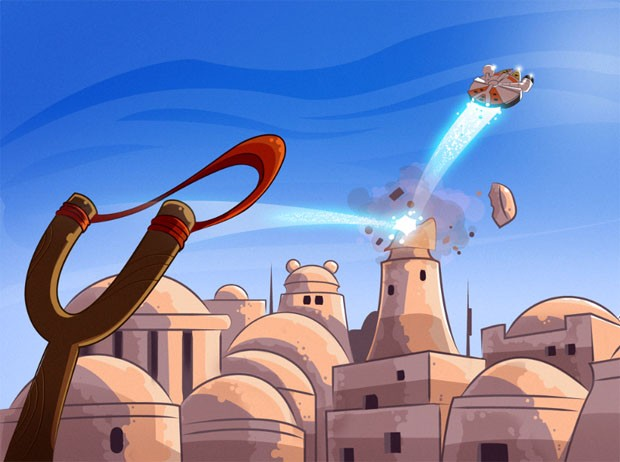 Angry Birds Star Wars ya disponible: Que la fuerza del tirachinas te acompañe