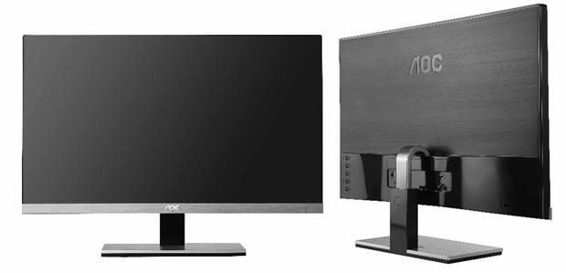 AOC nos muestra un monitor IPS de 23'' con un marco de apenas 2 mm