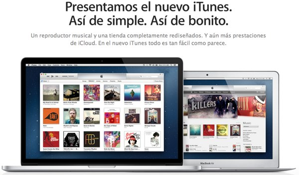 iTunes 11 ya disponible para descarga