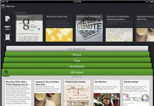 evernote 5 ios