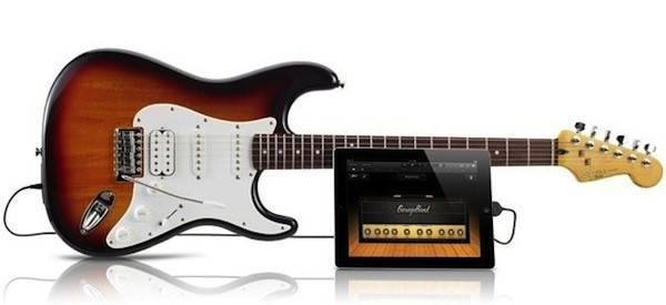 Fender Squier Stratocaster se comunica directamente con dispositivos iOS