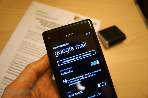Un inoportuno bug deja a algunos usuarios de Windows Phone 8 sin Gmail