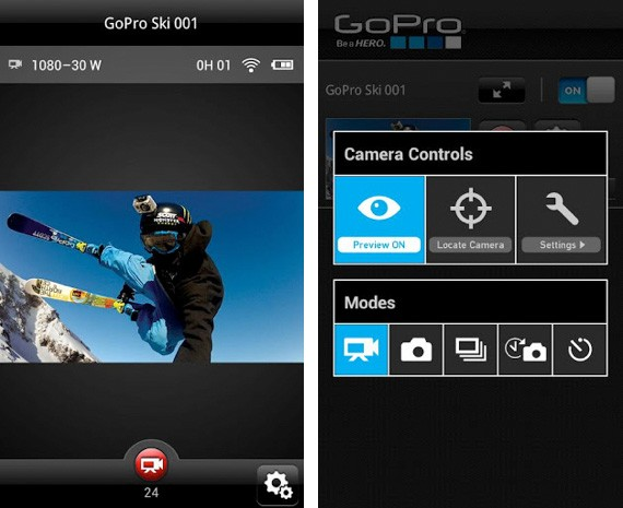 GoPro lanza por fin su aplicacin de control remoto para Android