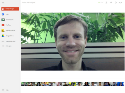 Los Hangouts de Google+ ahora permiten reuniones de hasta 15 personas