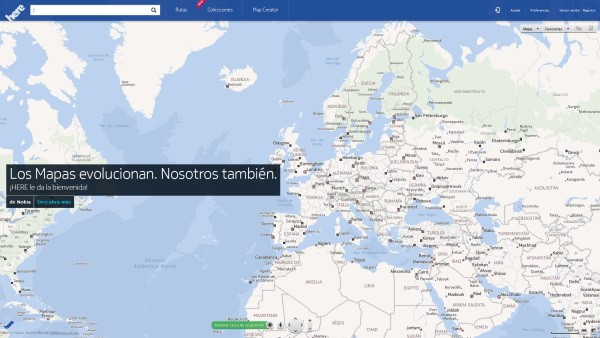 Nokia da la campanada con Here, un servicio de mapas multiplataforma para ordenadores, Android, iOS y Firefox OS