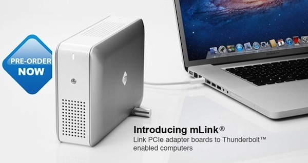 mLogic anuncia la disponibilidad de la carcasa Thunderbolt PCIe mLink