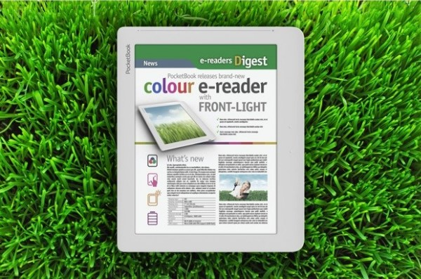 PocketBook nos tienta con un nuevo lector E Ink a color con iluminación frontal
