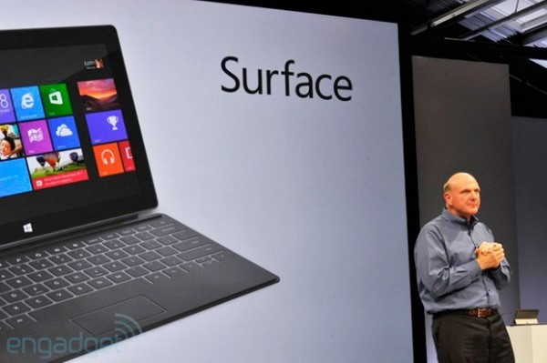 Steve Ballmer dice que el arranque de Surface RT ha sido