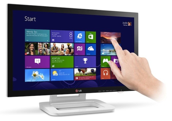 LG touch 10 windows 8