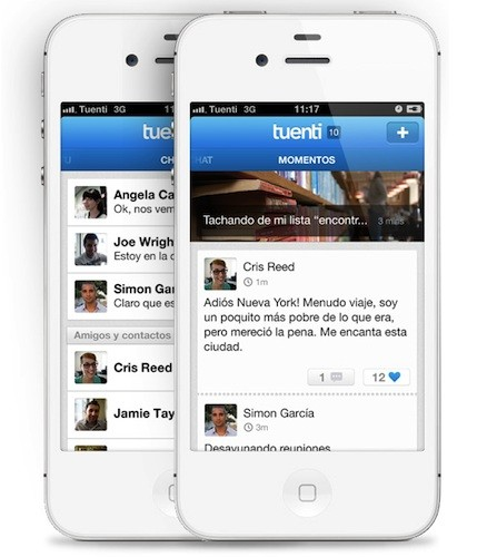 Tuenti Social Messenger ya disponible (en beta) para iPhone
