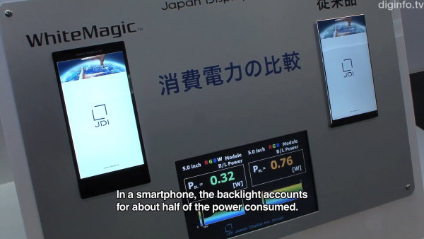 Japan Display nos enseña su pantalla 1080p de 5